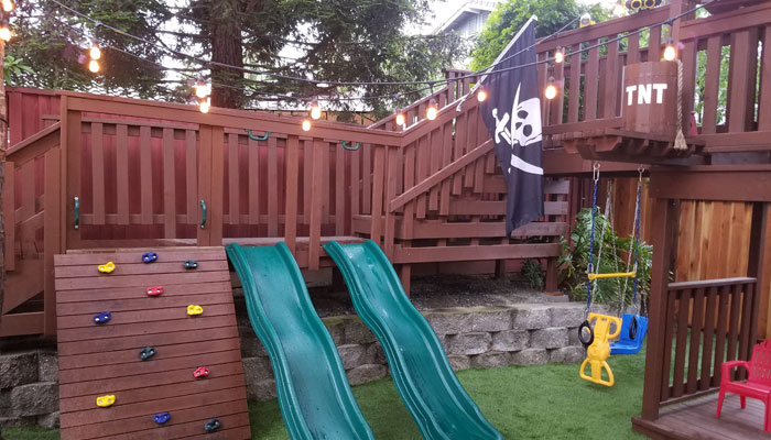 Children's / Kids Playhouse and Fort Design and Build by CTB Remodeling and Construction